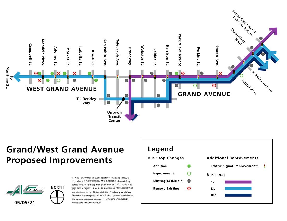 Grand/West Grand Avenue Proposed Improvements