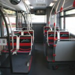 Hydrogen fuel cell bus interior