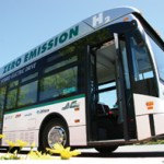 Hydrogen fuel cell bus