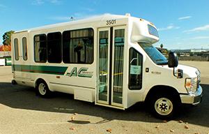 ElDorado 24-foot cutaway bus