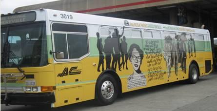 AC Transit Freedom Bus