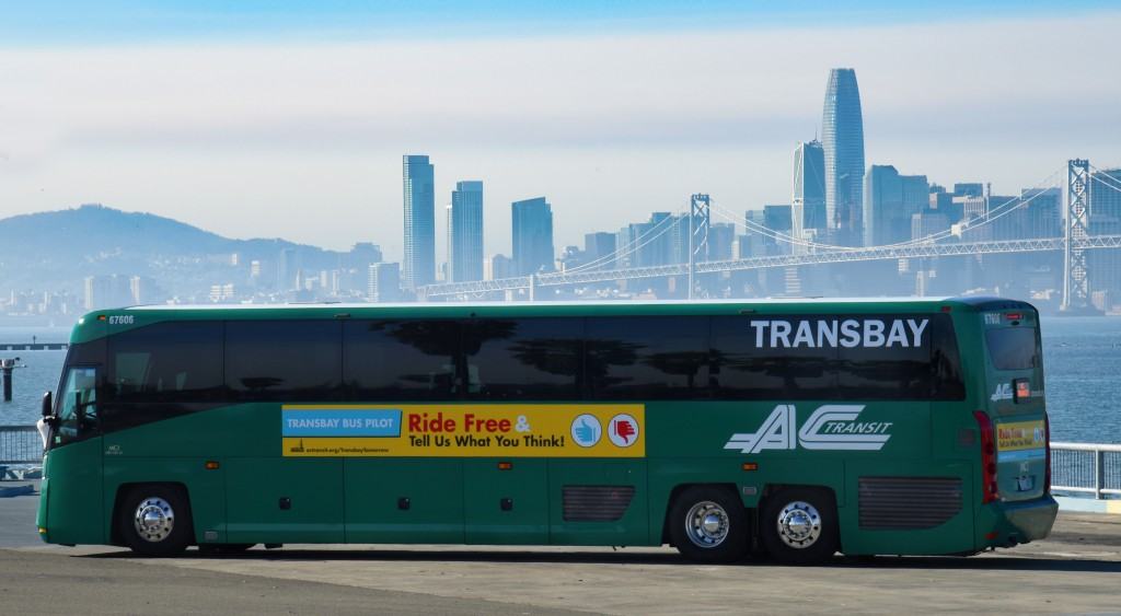 Welcome To Our Transbay Bus Pilot Project Ac Transit