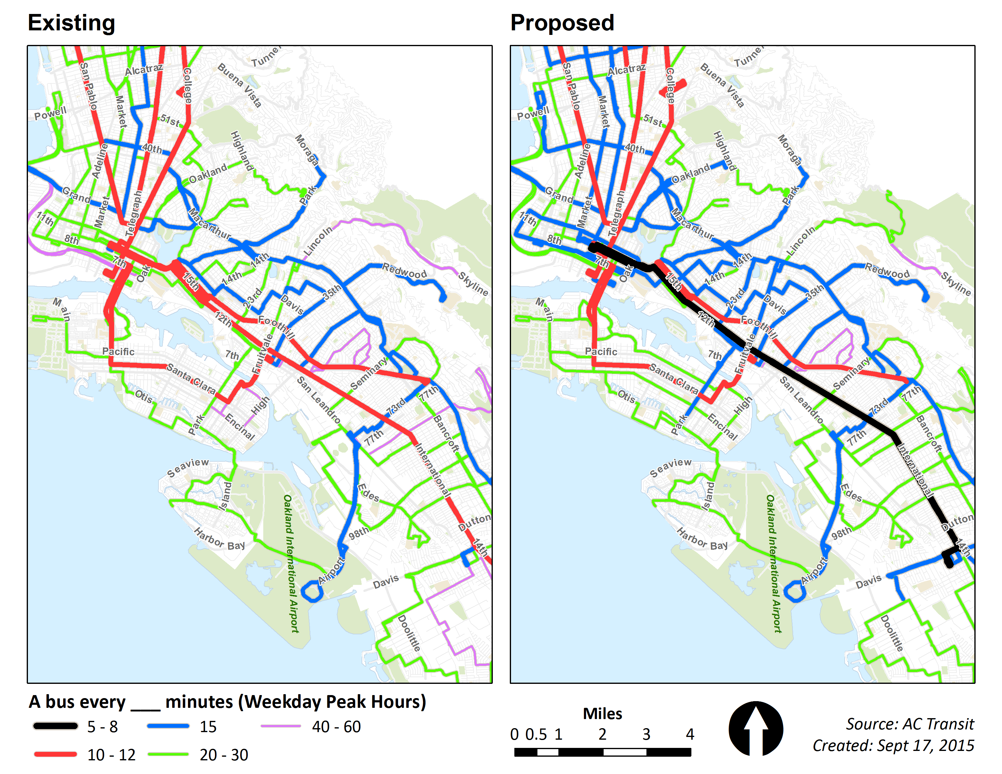 Ac Transit Map Non animated Service Expansion Plan maps | AC Transit Ac Transit Map