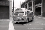 AC Transit Bus number 1848 in San Francisco in July 1961.