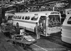 New 100 series bus comes off the GMC assembly line.