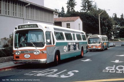 AC Transit bus number 302