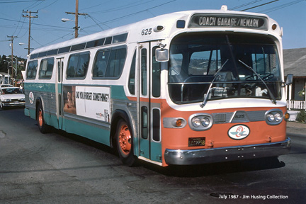 AC Transit bus number 725 (XMC-53)