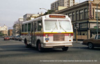 AC Transit bus 2221 in December 1982.