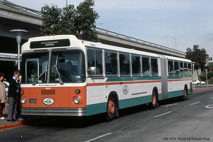 AC Transit bus number 1621