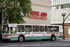 AC Transit bus 1530 in downtown Oakland on June 22, 2001.