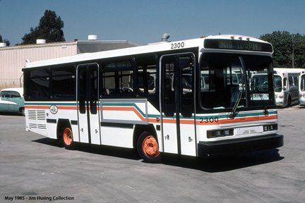 AC Transit bus number 2300