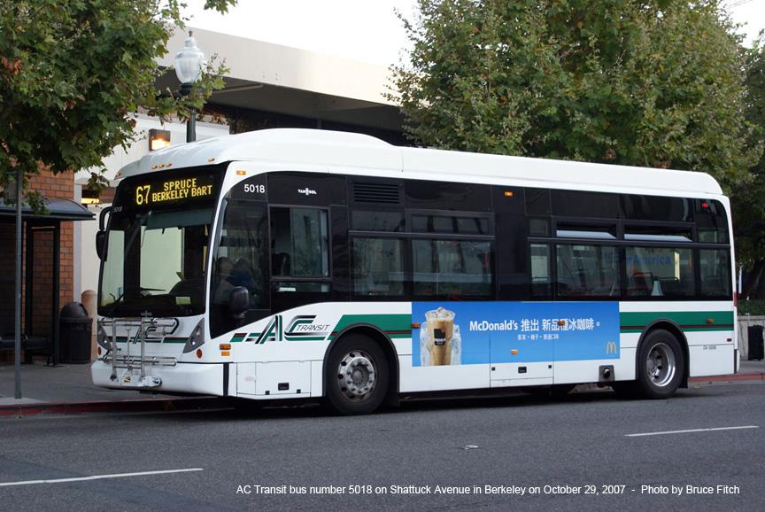 Ridership, Bus Fleet and Service | AC Transit