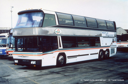 Neoplan double-decker bus