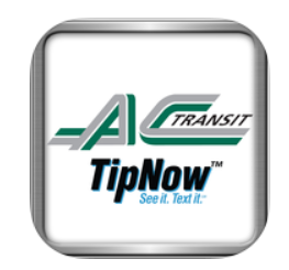 AC Transit Launches New Safety App: TipNow | AC Transit